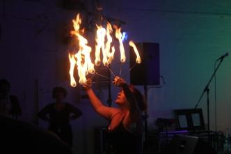 Ivana B Serious Fire show 2
